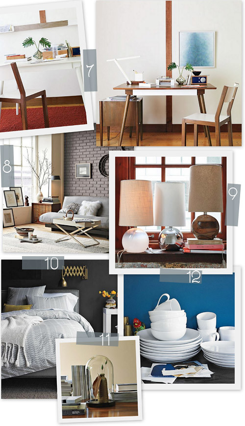12 West Elm Faves + Boston Event!
