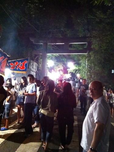 等々力のお祭り(玉川神社)