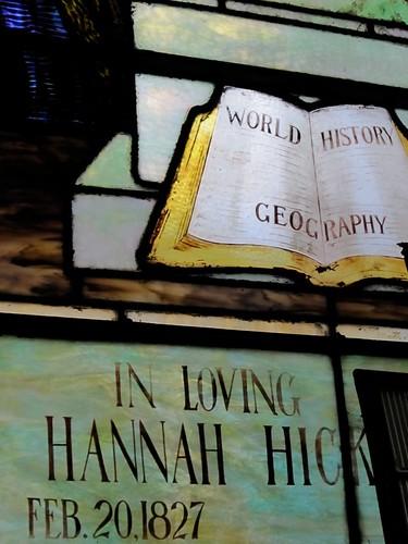 Hannah Hick 1827