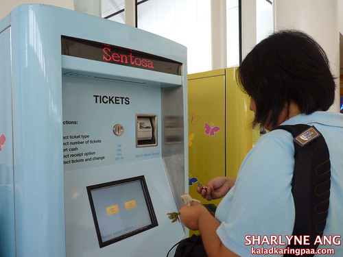 Ticket Machine at the Vivo City