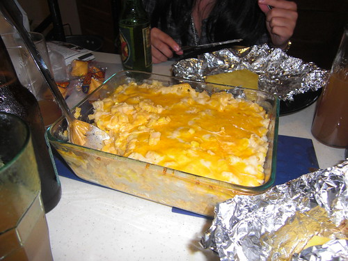 Baked Mac-N-Cheese from a box!
