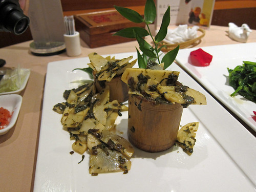 Sauteed Bamboo Shoots with Potherb Mustard