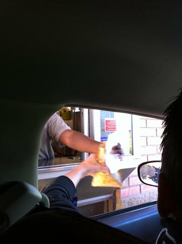 11 a.m. Tim Horton's drive-thru