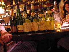 wines we tasted