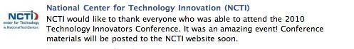 National Center for Technology Innovation