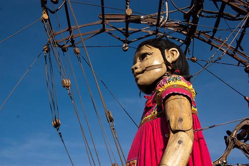 Niña Gigante(Foto Sandy Meza)