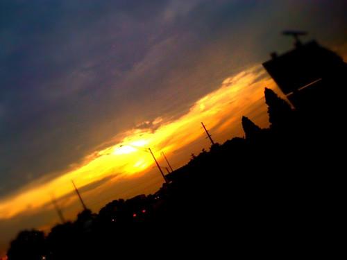 MMX 205 Sunset after the rain