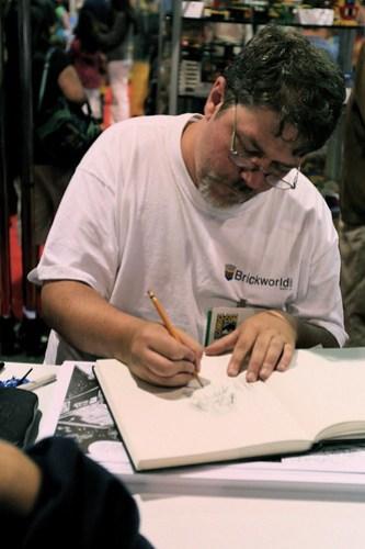 Greg Hyland Signing/Sketching