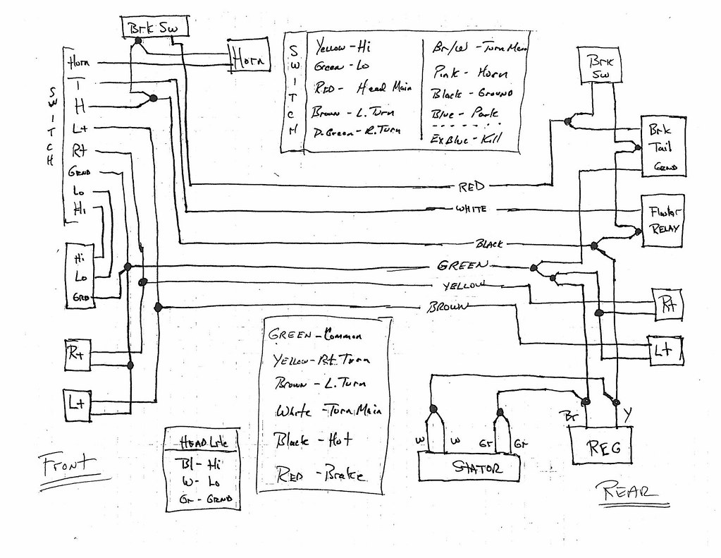stator wiring diagram split ac unit 8 coil 5 wire free engine image