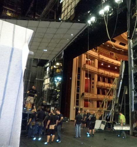 Staatsoper Tour, Backstage
