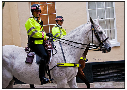 Mounted Police, Black Friars Lane