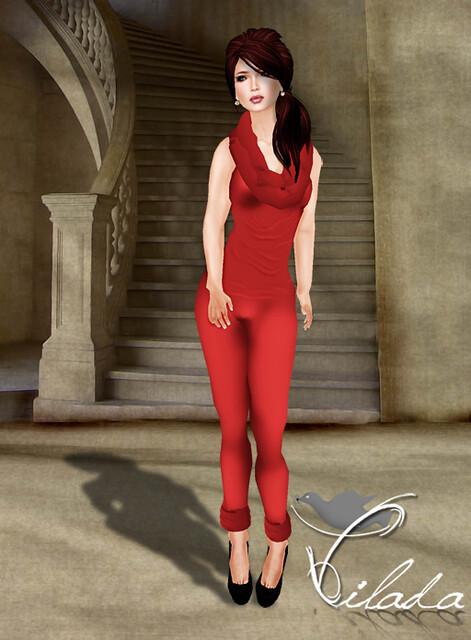 Crimson Doll Red