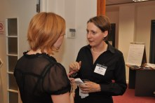 Sara Batts and Suzanne Wheatley at SLA Europe's Maximising Your Personal Impact seminar