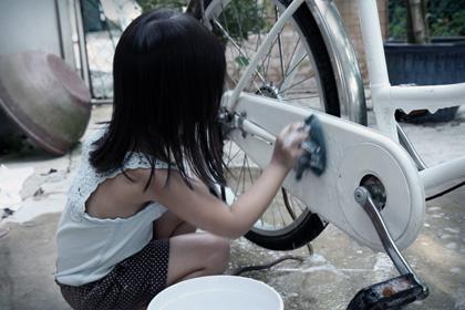 bike washing day
