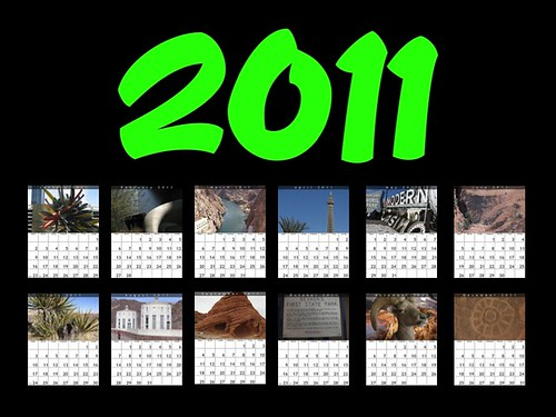 2011 Las Vegas Calendar