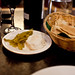 Garlic dip and pickled veges @ The Prophet