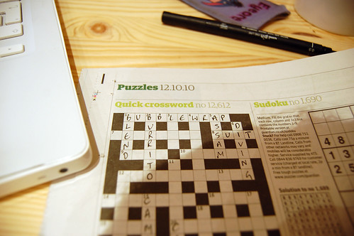 G2 Crossword Fail