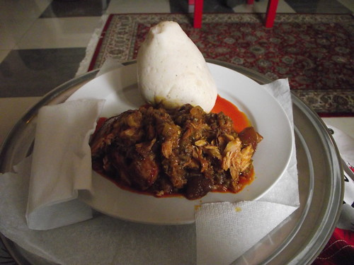 Cynthia's Banku and Stew