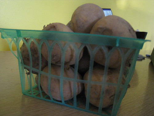Potatoes - CSA Week 7