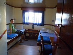Our cabin on the ¨Seaman II¨, Galapgos Islands
