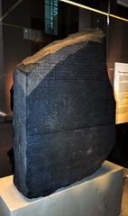 British museum, la stele di Rosetta