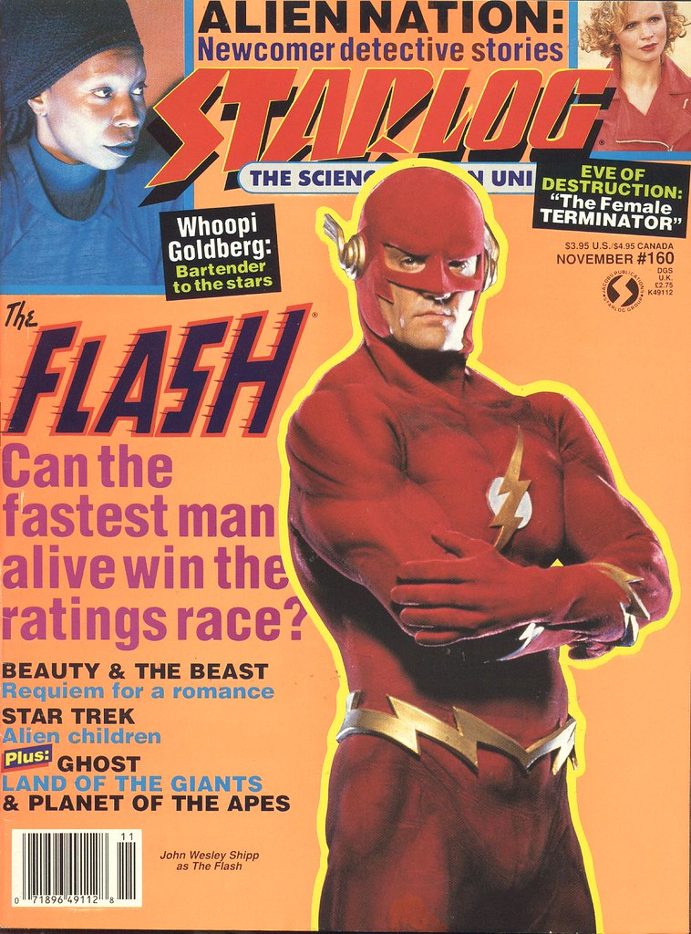 Flash in Starlog