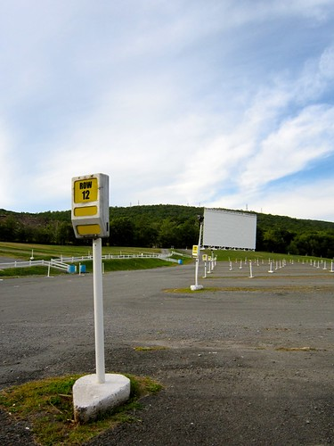 Circle Drive In Movie Theatre Screen