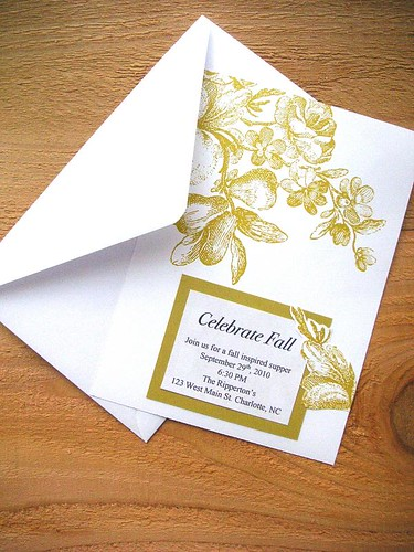 DIY with printable invites