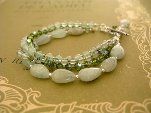 Almost Autumn bracelet