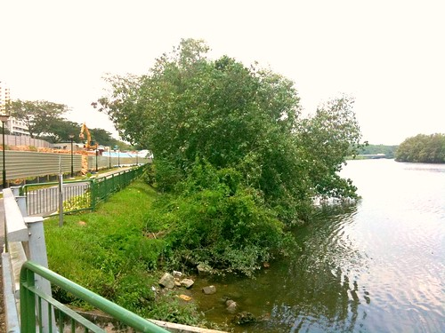 Overlooking the Serangoon River