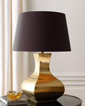 brass table lamp Horchow
