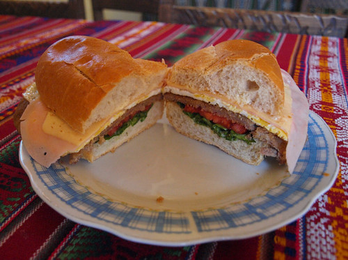 Argentina: Sandwich de milanesa (2)
