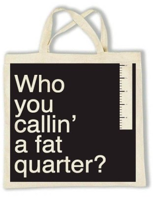 fat quarter tote
