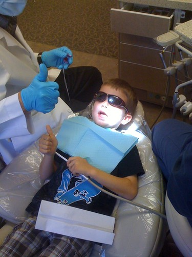Dentist appointment.... Humph.