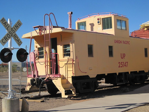 Clark County Heritage Museum:  Train Yard Replica