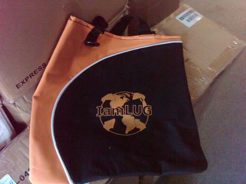IamLUG 2010 bags arrived