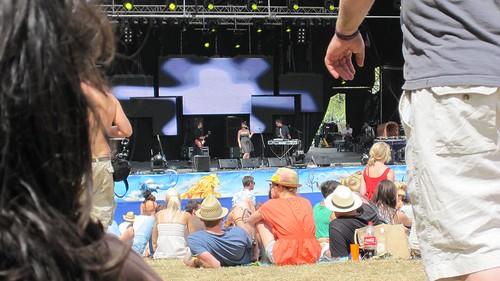 Belleruche main stage Secret Garden Party