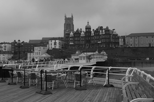 Cromer from the pier