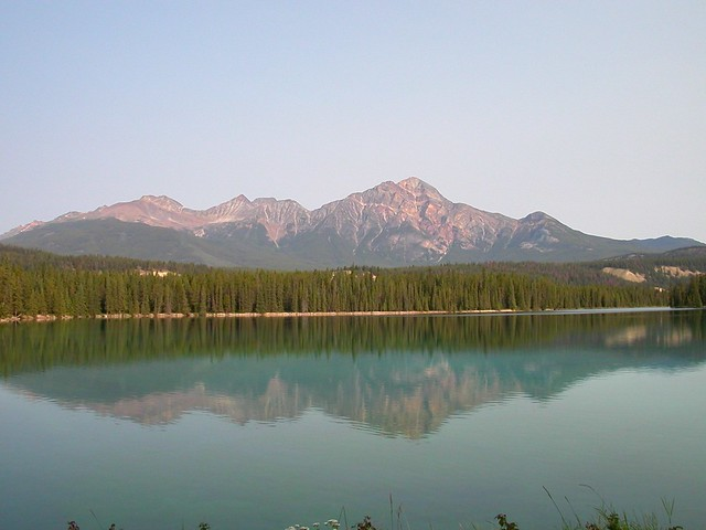 Another Lake and a similar mountain