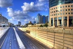 Deserted streets on Yom Kippur