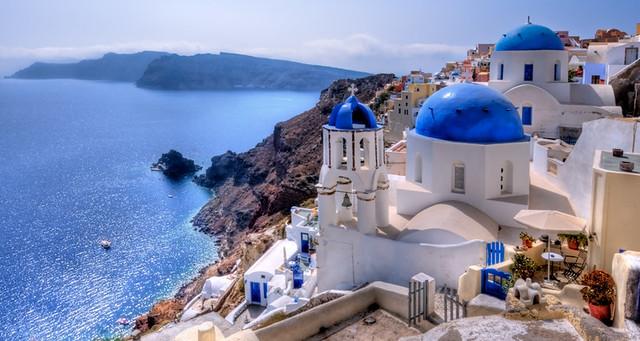 Dreamy Santorini