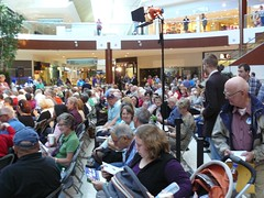 Calgarians at Southcentre mayoral forum