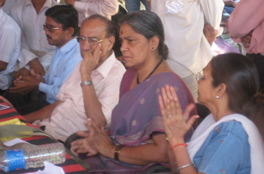 Pics from the satyagraha - 10 Oct 2010 - 3