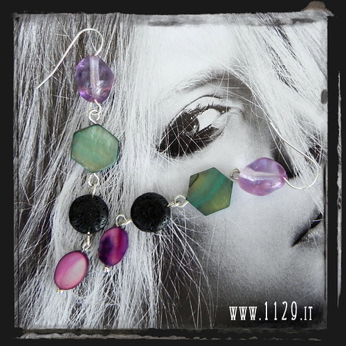 LMMMOP orecchini multicolore earrings