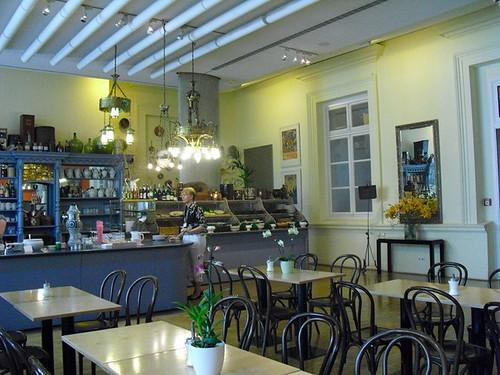 Hamburgo, cafetería