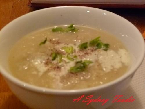 Jerusalam Artichoke soup