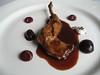 Les Cols_Espaldita de conejo con cerezas, yogur y cacao
