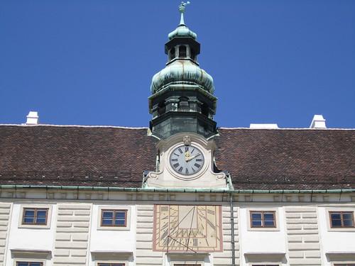Hofburg Palace Sundial