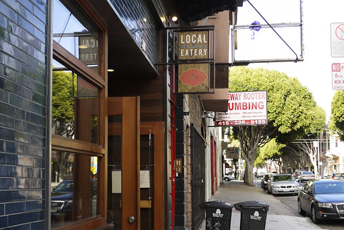 Knead is housed in the restaurant Mission Local Eatery on 24th Street, in the Mission