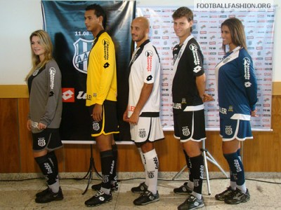 Ponte Preta Lotto 110th Anniversary 2010 Kits / Camisas